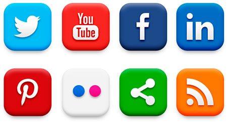 20 Popular Social Media Icons