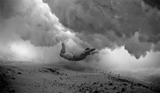 (Literally) Breathtaking Photos of People Beneath the Waves