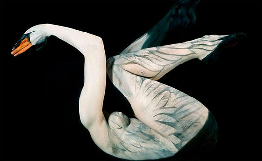 Amazing Body Art Illusions by Gesine Marwedel