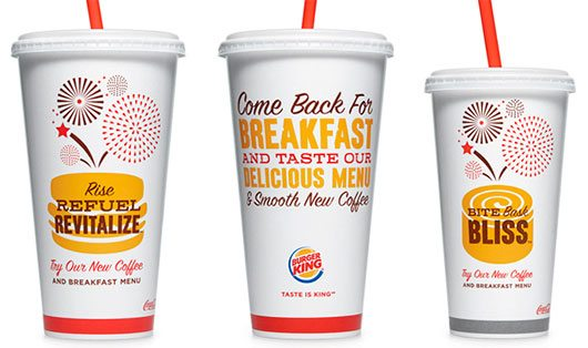Burger King's Partnership With Seattle's Best Coffee