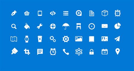 36 Pixel Perfect Icons