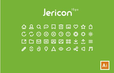 Jericon Mini 16px V1 by Jer