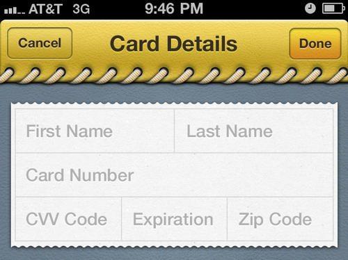 iPhone App by Bill Labus