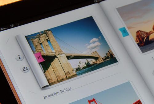 Inside Photo album - iPad - UI/UX/iOS by Cuberto