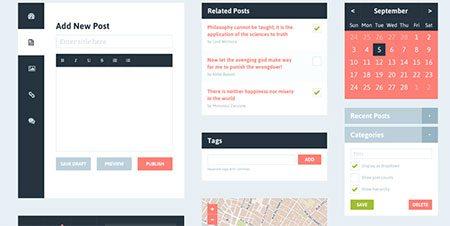 Flat UI Blog