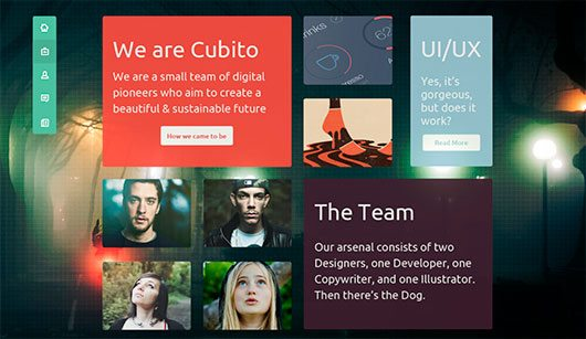 Cubito Home Page by Patrick Rogan
