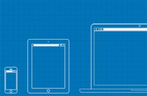 Web / UX Design Wireframe Template PSD by Irfan Mir