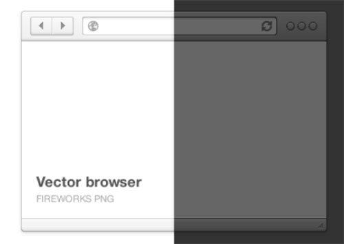 Browser freebie by Marek Levák