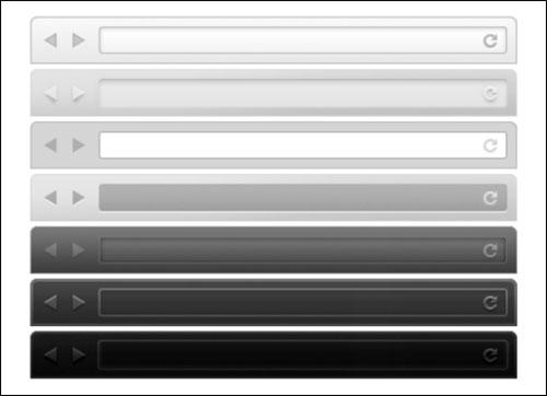 Browser UI Kit (PSD) by Jason Perez