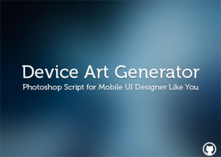 Device Art Generator for Photoshop by Ashung Hung
