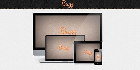 Buzz App Responsive Template
