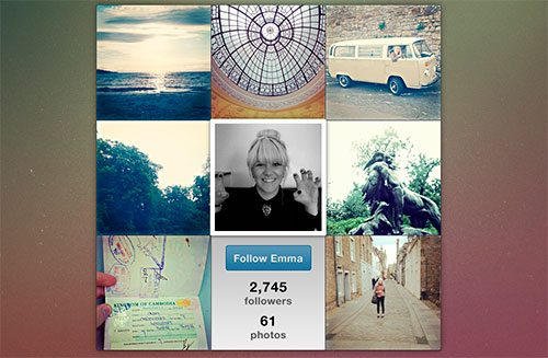 Instawidget by Chris Casey