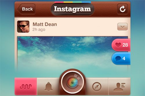 Instagram Redesign by Matt Dean