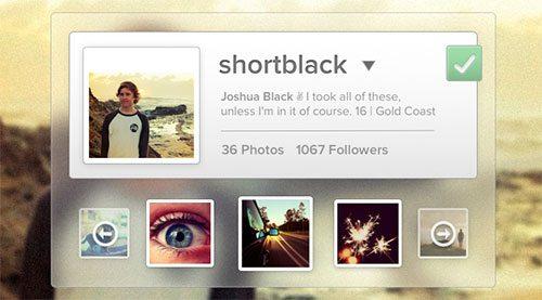 Instabound - Instagram Widget Rebound by John Morris