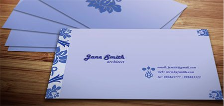 Decorative Business Card Template