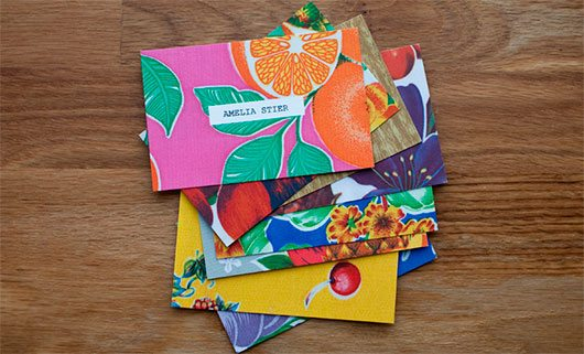 Business Cards by Amelia Stier