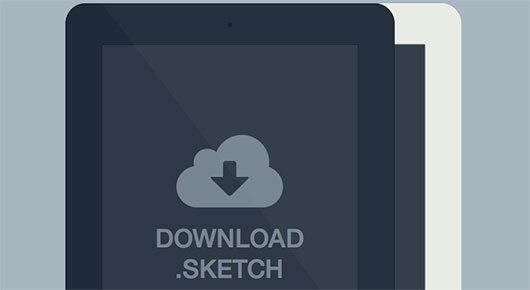 Ipad Minimal Sketch by Luc Chaffard
