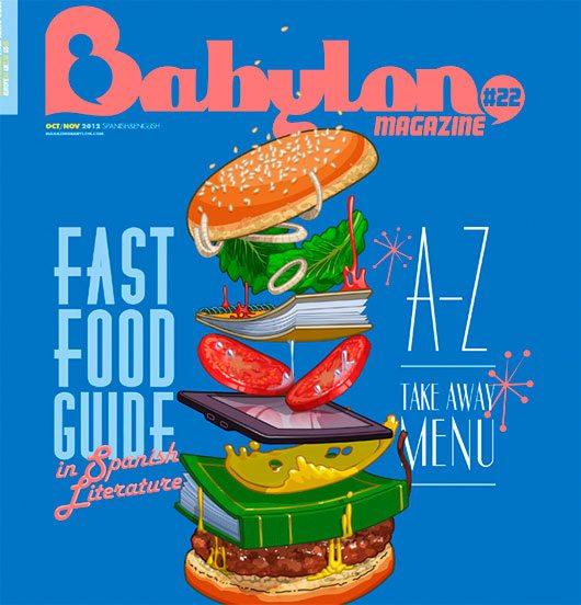 Babylon Magazine Covers by Carlos Aranda Kaf