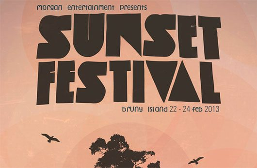 Sunset Festival by Chris Morgan