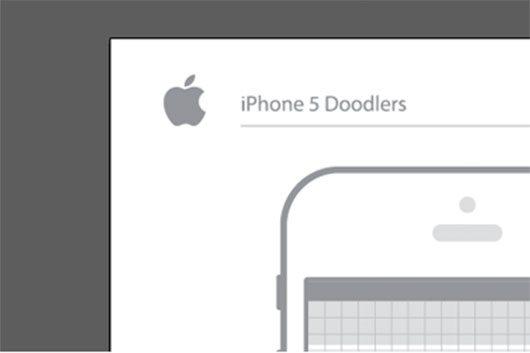 iPhone 5 Doodlers by Jed Bridges