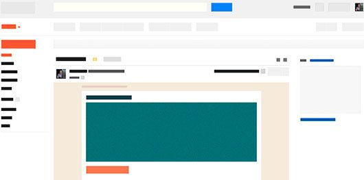 Responsive Email Wireframe by Ted Goas