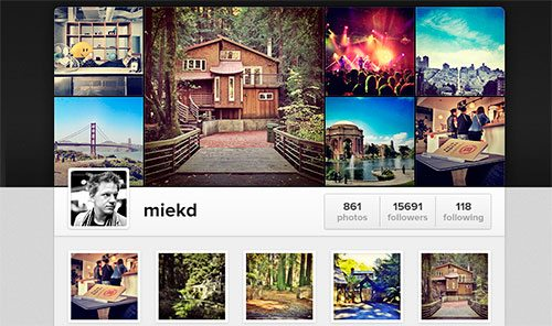 Instagram is launching Web Profiles! by Maykel Loomans