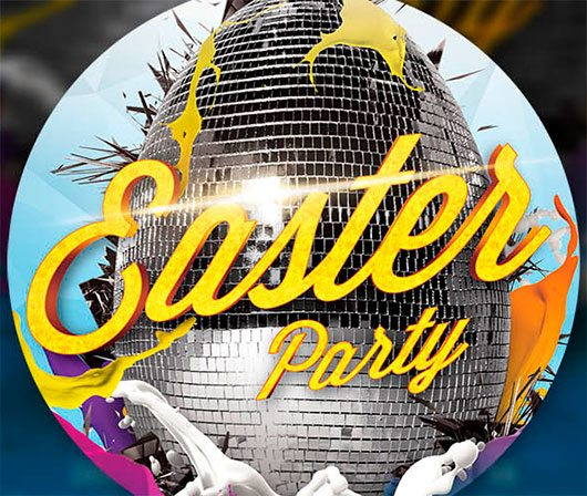 Easter Party Flayer Template