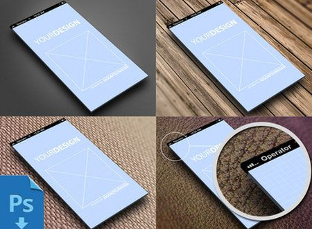 Showcase template for iphone5 by Jason Teunissen