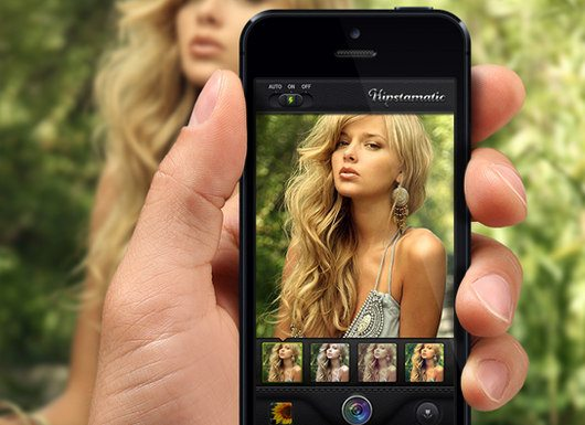 Hipstamatic iPhone App concept by Oleg Andrianov