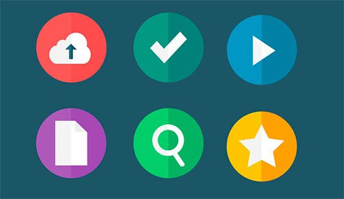 Flat Icons - Part 2 by OthMane Machrouh