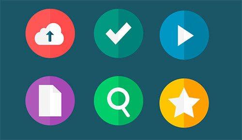Flat Icons - Part 2 by OthMane Machrouh