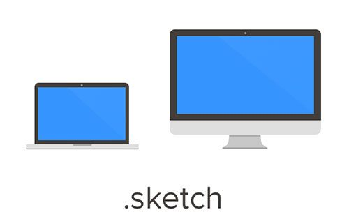 Flat MacBook Pro and iMac by Kee Yen Yeo