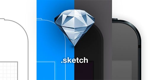 iPhone 5 Sketch Template by Denis Rojčyk