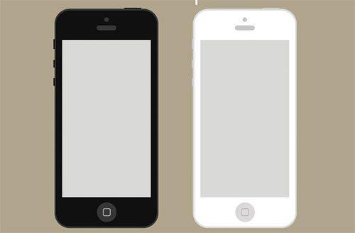 Flat iPhone Wireframe Freebie by Gavin Anthony
