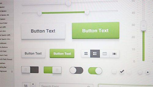 Fresh UI Kit by Sketch Gems