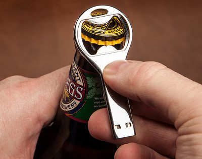 8GB Flash Drive Bottle Opener