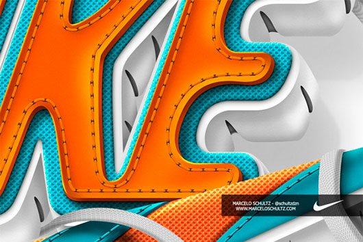 Nike - Futura logo by Marcelo Schultz
