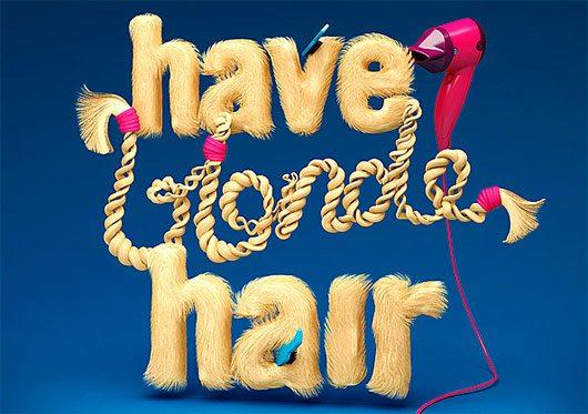 Have blonde hair
