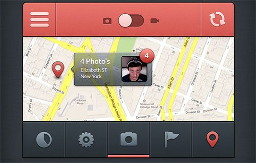 Prectice Iphone Ui Free Psd by Gil