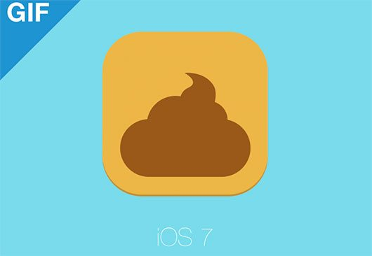 iOS 7 Icon based off the new grid system... by Mikael
