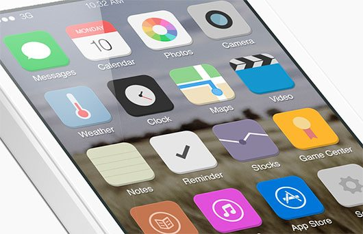 A better iOS 7 by Graphicure