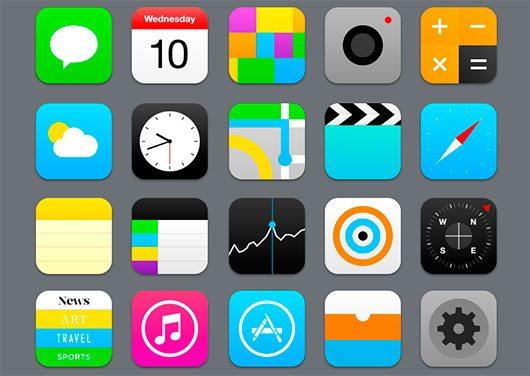 iOS7 by Ondrej Jób