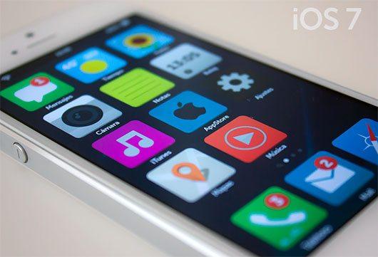 iOS 7 - Flat by Dámaso Benítez