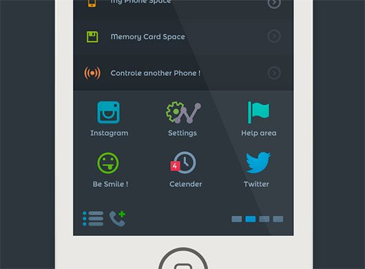 freebies PSD - IOS 7 - Home by  Mohamed Yehia