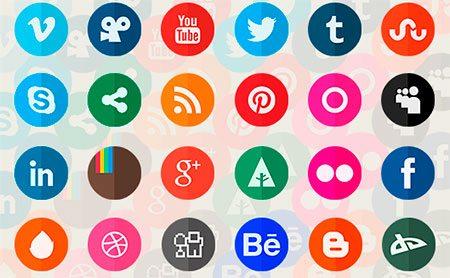 Circle Flat Icons Retina-ready