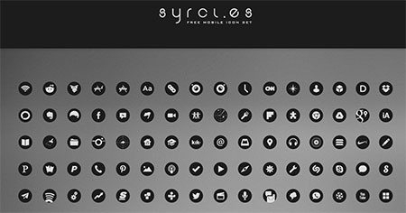 Syrcles Icons by jamestraf