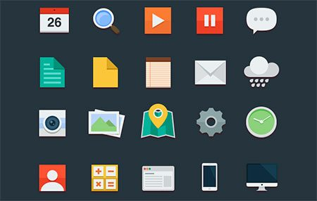 Flat Icons by buatoom