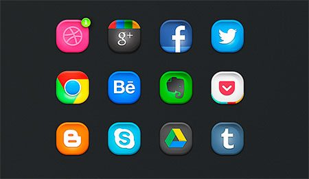 Rebound Icons (PSD) by JoJo Marion