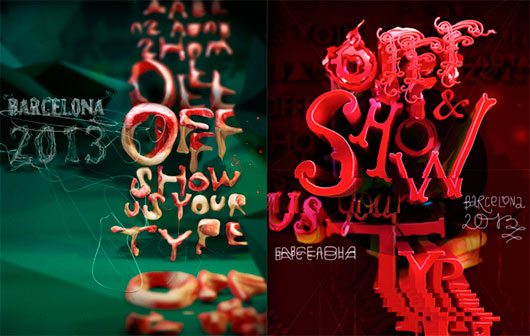 OFFF show us your type poster by Dmitry Karpov