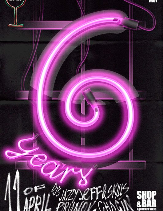 6th Anniversary Party poster